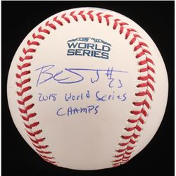 Blake Swihart Signed Official 2018 World Series Baseball (JSA COA  Sure Shot Promotions Hologram)