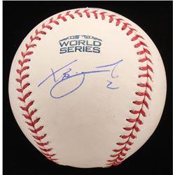 Xander Bogaerts Signed Official 2018 World Series Baseball (MLB Hologram)