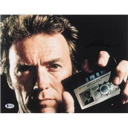 "Clint Eastwood Signed ""Dirty Harry"" 11x14 Photo (Beckett LOA)"
