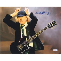 Angus Young Signed 11x14 Photo (PSA Hologram)