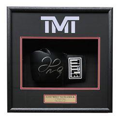 Floyd Mayweather Signed 18x19x4 Custom Framed Boxing Glove Display (Beckett COA)