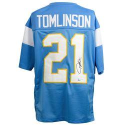 LaDainian Tomlinson Signed San Diego Chargers Jersey (JSA COA  Tomlinson Hologram)