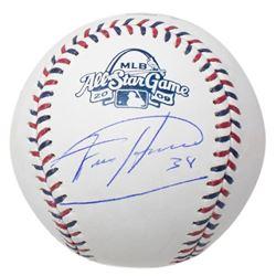 Felix Hernandez Signed 2009 All-Star Game Logo Baseball with Display Case (JSA COA)