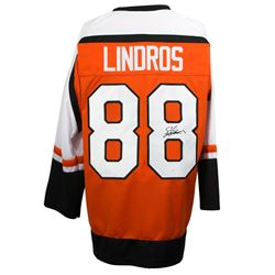 Eric Lindros Signed Philadelphia Flyers Captains Jersey (JSA COA)