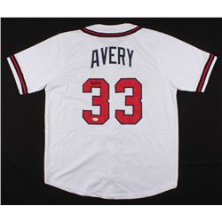 Steve Avery Signed Atlanta Braves Jersey (JSA COA)
