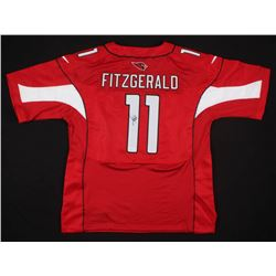 Larry Fitzgerald Signed Arizona Cardinals Jersey (JSA COA)