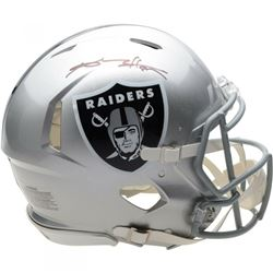 Antonio Brown Signed Oakland Raiders Full-Size Authentic On-Field Speed Helmet (Fanatics Hologram)
