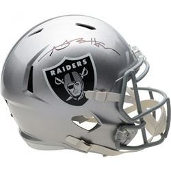 Antonio Brown Signed Oakland Raiders Full-Size Speed Helmet (Fanatics Hologram)