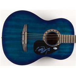 "Hank Williams Jr. Signed 39"" Rogue Acoustic Guitar (Beckett COA)"