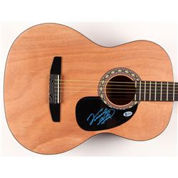 "Vince Gill Signed 39"" Rogue Acoustic Guitar (Beckett COA)"