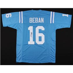 "Gary Beban Signed UCLA Bruins Jersey Inscribed ""UCLA '67 Heisman"" (JSA COA)"