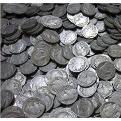 Lot of (50) Buffalo Nickels