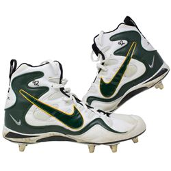 Reggie White Game Used Nike High Top Football Cleats