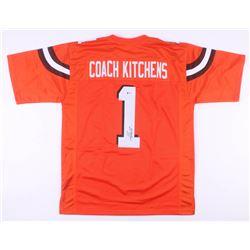 Freddie Kitchens Signed Cleveland Browns Jersey (Beckett COA)