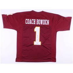 Bobby Bowden Signed Florida State Seminoles Jersey (Beckett COA)