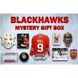 Chicago Blackhawks Autograph  Collectibles Champs Edition Mystery Gift Box Series 1 (4 ITEMS IN EVER
