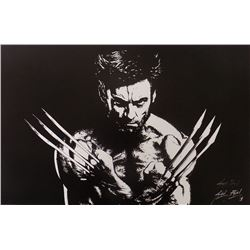 "Jared Barel Signed ""X-Men"" 11x17 Lithograph (SI COA)"