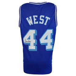 Jerry West Signed Los Angeles Lakers Jersey (JSA COA)