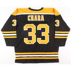 Zdeno Chára Signed Boston Bruins Jersey (Your Sports Memorabilia Store COA)