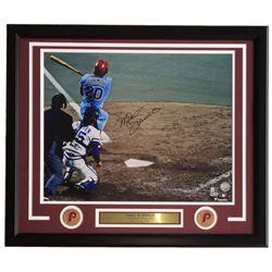 Mike Schmidt Signed Philadelphia Phillies 22x27 Custom Framed Photo Display (Fanatics Hologram  MLB