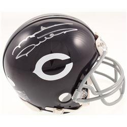 Mike Ditka Signed Chicago Bears Throwback Mini Helmet (JSA COA)