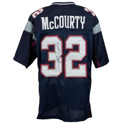 Devin McCourty Signed New England Patriots Jersey (Sports Integrity COA)