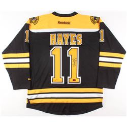 Jimmy Hayes Signed Boston Bruins Jersey (Your Sports Memorabilia Store COA)