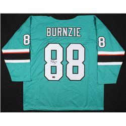 "Brent Burns Signed San Jose Sharks ""Burnzie"" Jersey (Your Sports Memorabilia Store COA)"