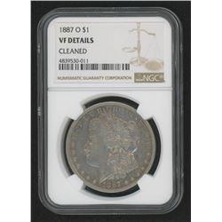 1887-O Morgan Silver Dollar (NGC VF Details)