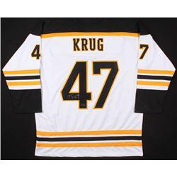 Torey Krug Signed Boston Bruins Jersey (Your Sports Memorabilia Store COA)