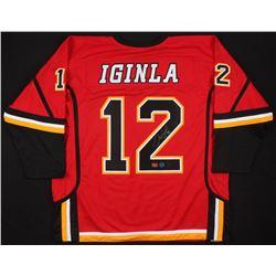 Jarome Iginla Signed Calgary Flames Jersey (Your Sports Memorabilia Store COA)