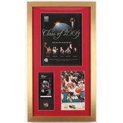 Michael Jordan 15.5x27 Custom Framed Program Display