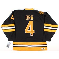 Bobby Orr Signed Authentic Adidas 1975-1976 Throwback Bruins On-Ice Game Jersey (Orr COA)