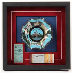 Disneyland 14.5x14.5x2 Custom Framed Ashtray Shadowbox Display