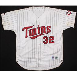 Dave Winfield Game Used Minnesota Twins Jersey (Miedema LOA)