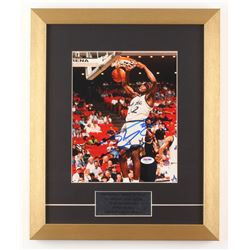 Shaquille O'Neal Signed Orlando Magic 14x17 Custom Framed Photo (PSA COA)