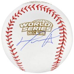 David Ortiz Signed 2004 World Series Baseball (Fanatics Hologram)