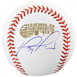 David Ortiz Signed 2007 World Series Baseball (Fanatics Hologram  MLB Hologram)