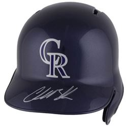 Charlie Blackmon Signed Colorado Rockies Full-Size Batting Helmet (Fanatics Hologram  MLB Hologram)