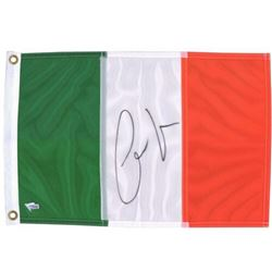 Conor McGregor Signed 12x18 Ireland Flag (Fanatics Hologram)