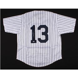 Alex Rodriguez Signed New York Yankees Jersey (Beckett COA)