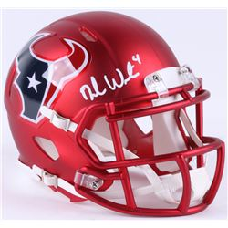 Deshaun Watson Signed Texans Blaze Speed Mini-Helmet (JSA COA)