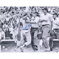 George Brett Signed Kansas City Royals 16x20 Photo (Beckett COA)