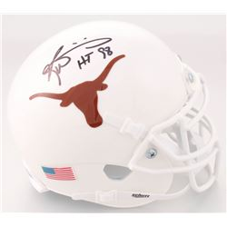 "Ricky Williams Signed Texas Longhorns Mini Helmet Inscribed ""HT 98"" (JSA COA)"