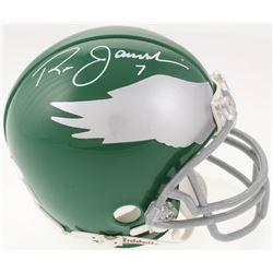 Ron Jaworski Signed Philadelphia Eagles Throwback Mini Helmet (JSA COA)