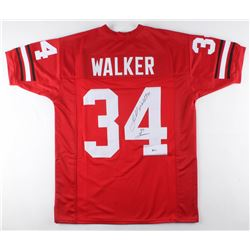 Herschel Walker Signed Georgia Bulldogs Jersey Inscribed  82 Heisman  (Beckett COA)