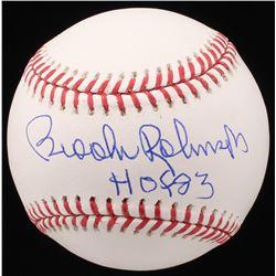 "Brooks Robinson Signed OML Baseball Inscribed ""HOF 83"" (JSA COA)"
