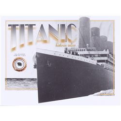 Authentic Coal From Titanic Wreckage on 6x8 Photo (The Zone COA)
