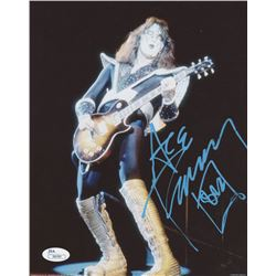 Ace Frehley Signed 8x10 Photo (JSA COA)