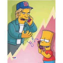 Denis Leary Signed  The Simpsons  8.5x11 Photo (PSA COA)